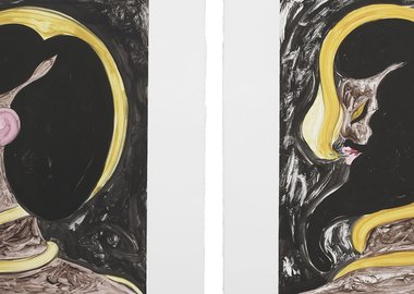 Chris Ofili - Untitled IV