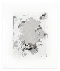 Portraits (b/w), by Christopher Wool