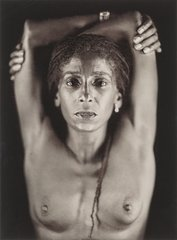 Renee Cox, by Chuck Close