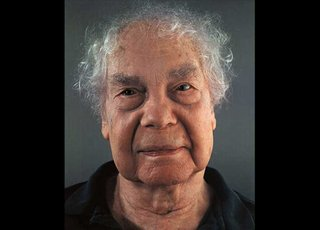 Merce Cunningham, by Chuck Close