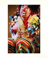 Untitled (stuffed animals clown), by Cindy Sherman