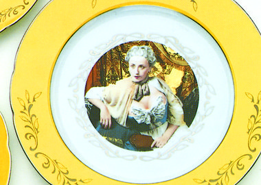 Cindy Sherman - Madame de Pompadour (née Poisson) dinner service