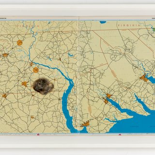 Meteorite lands..in the middle of nowhere hittin... Bethlehem, North Carolina art for sale