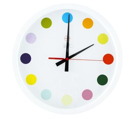 Small Spot Clock, by Damien Hirst