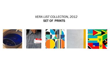 Dan Graham, Paul Ramirez Jonas, Sarah Morris, Matt Mullican, Fred Tomaselli, and Fred Wilson - Vera List Collection