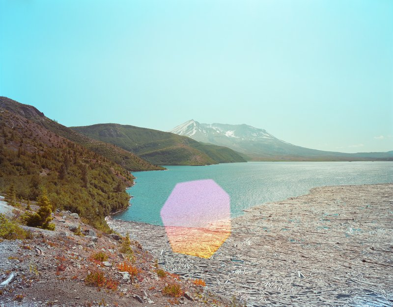 Dan Holdsworth's Mount St Helens from Spirit Lake, 2012