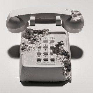 Daniel Arsham - Future Relic 05: Telephone, Mixed Media