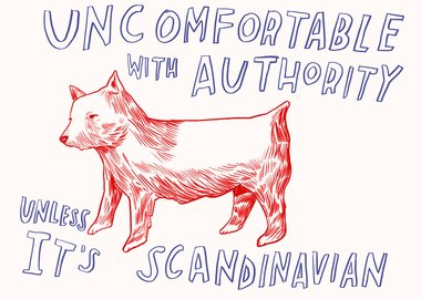 Dave Eggers - Uncomfortable With Authority Unless Its Scandinavian
