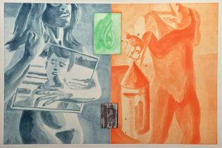 Untitled from Canfield Hatfield, by David Salle