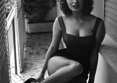 David Seymour - Sophia Loren, Naples, IT