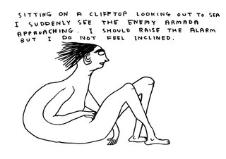 Untitled, by David Shrigley