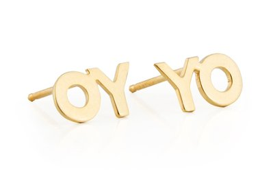 Deborah Kass - OY/YO Earrings