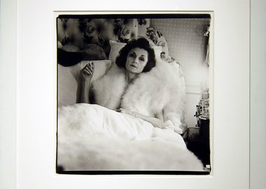Diane Arbus - Brenda Diana Duff Frazier, 1938 Debutante of the Year, At Home