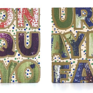 Don't Quit Your Daydream (Diptych) art for sale
