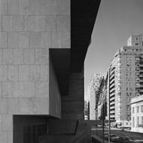 Whitney Museum, Marcel Breuer, New York, NY (Gary Stoller and Lincoln Kirstein)