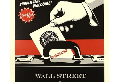 Shepard Fairey - Shoplifters Welcome