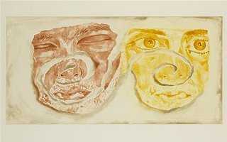 Celtic Self-Portrait, by Francesco Clemente