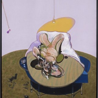 Francis Bacon - Lying Figure, Print