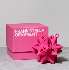 Star Ornament, Pink, by Frank Stella