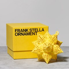 Star Ornament, Yellow, by Frank Stella