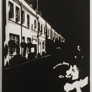 Kiss & Fly (Princes Gate Mews) art for sale