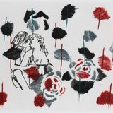 Ghada Amer, Black Rose