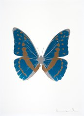The Souls III - Turquoise/Rustic Copper/Silver Gloss, by Damien Hirst