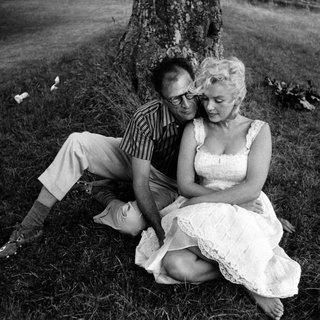 Marilyn Monroe and Arthur Miller at his Estate near Roxbury, Connecticut art for sale