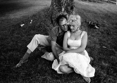 International Press Online - Marilyn Monroe and Arthur Miller at his Estate near Roxbury, Connecticut