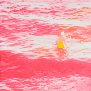 Wading II (Pink) art for sale
