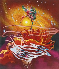 The Bird of Paradise Approaches the Hot Water Planet, by James Rosenquist