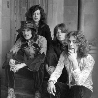 Led Zeppelin at Chateau Marmont art for sale