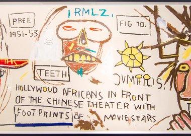 Basquiat Hollywood Africans Jean-Michel Basquiat -...