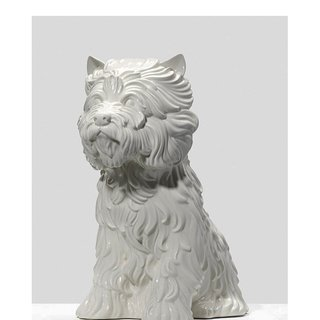 Puppy Vase, by Jeff Koons