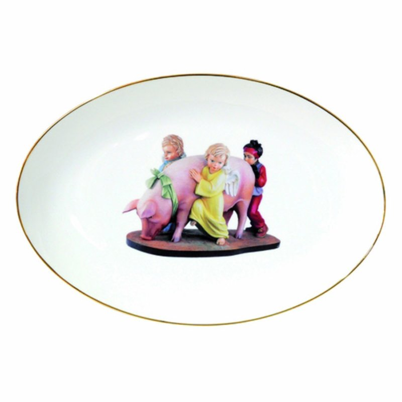 Jeff koons oval platter banality series for sale artspace for Jeff koons banality