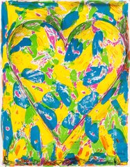 The Blue Heart, by Jim Dine