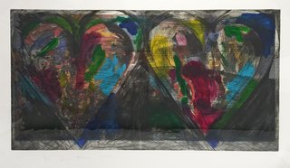 Blue Points, by Jim Dine
