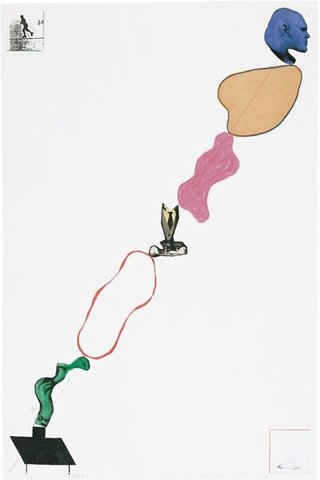 John Baldessari - Domestic Smoke, Print