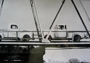 John Baldessari - Two Trucks/Two Decisions