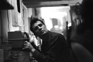 Jack Kerouac Listening to Himself on the Radio, by John Cohen