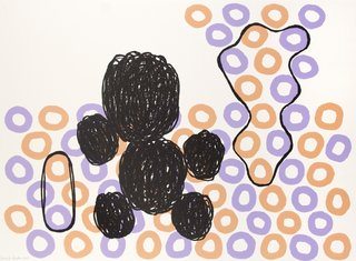Ball Figures III, by Jonathan Lasker