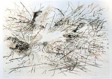 Julie Mehretu - Untitled (Pulse)
