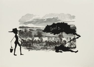 Kara Walker - An army train