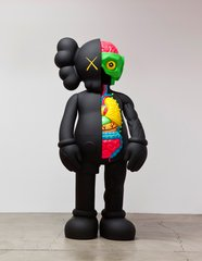 Four Foot Dissected Companion (Black), by KAWS