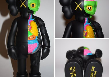 KAWS  - Companion Black (Flayed)