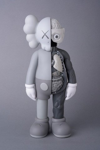 KAWS  - Companion (Grey Flayed), Design and Decorative Arts