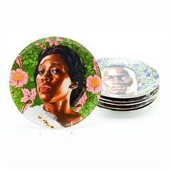 Plate Set, by Kehinde Wiley