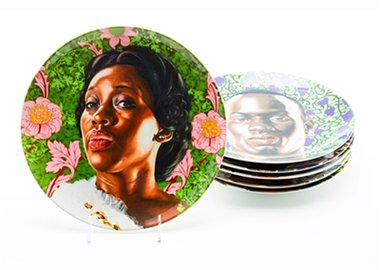 Kehinde Wiley - Plate Set