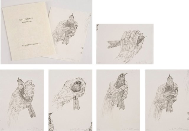 Kiki Smith - Bird in Hand, Print