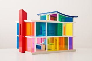 Kaleidoscope House with Accessories, by Laurie Simmons